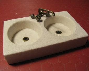 kitchen sink (1/12 miniature)