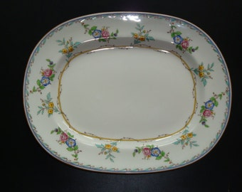 Minton MELROSE B1289 Small Size Platter - 10 1/2 Inches