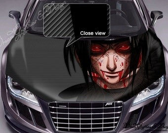 Anime Manga Full Color Graphics Adhesive Vinyl Sticker Fit any Car Hood Bonnet 101