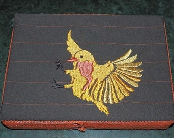 Gold Thrush Embroidery
