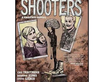 SHOOTERS hardcover graphic novel, illustrated by Steve Lieber, published by Vertigo,