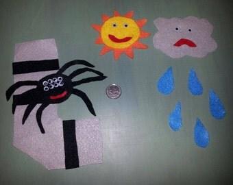 Itsy Bitsy Spider Felt Set
