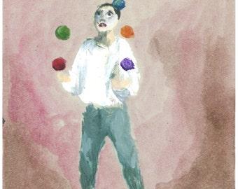 Cirque lunaire - Jongleur