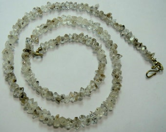 1 Strand High Quality Herkimer Diamond ,Quartz Double Terminated, Crystal ,Size=====9x5x5mm