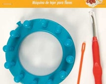FLOWER LOOM / Create Fun Embellishments / Weaving Tool