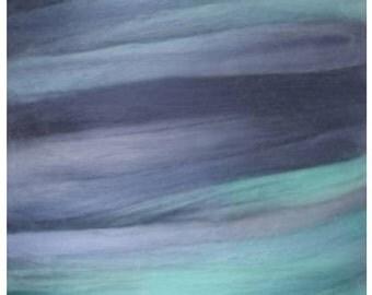 Extrafine merino roving, 19 mc for wet felting, spinning, fiber art. 1OZ