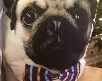 Pug face pillow - cute