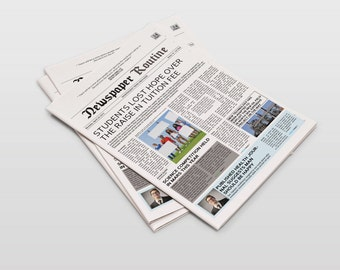 Newspaper Template Tabloid Size