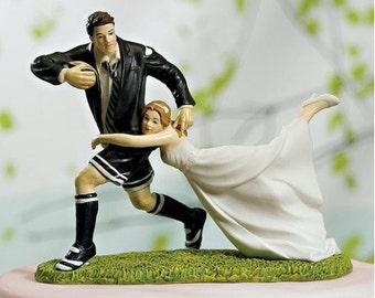 Figurine cake rugby