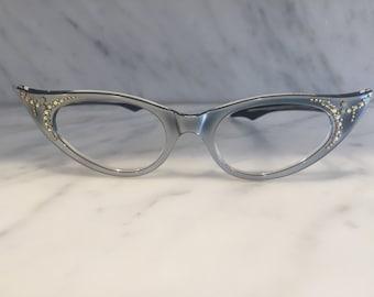 women's cat eye NOS vintage glasses