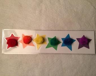 Star & Pom Pom Color Match