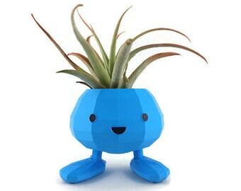 Pokemon Planter / Oddish Planter / Pokemon / Pokemon Go / Pikachu Planter / Desktop Planter /Pikachu / Gamer Gifts / Cute Gifts