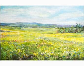 Blossom- Original Art Oil on Canvas Painting