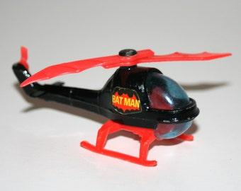Vintage 1970's Corgi Juniors BATCOPTER Diecast Helicopter (Batman, DC)