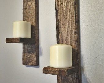 Candle Sconce Set