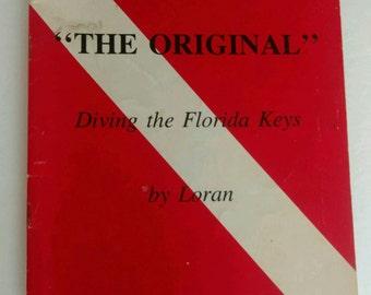 Vintage Florida Diving the Florida Keys Booklet by Loran 1988