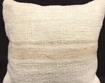 Hemp pillow case,Turkish hemp pillow cover,nomadic pillow case,handwowen cushion cover