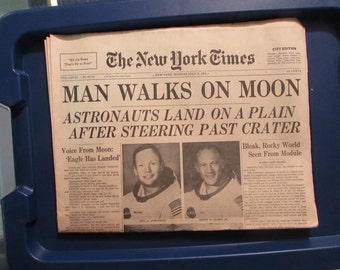 The New York Times July 21, 1969