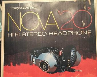 Realistic NOVA 20 headphone