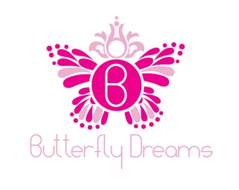 Butterfly Dreams Logo Template