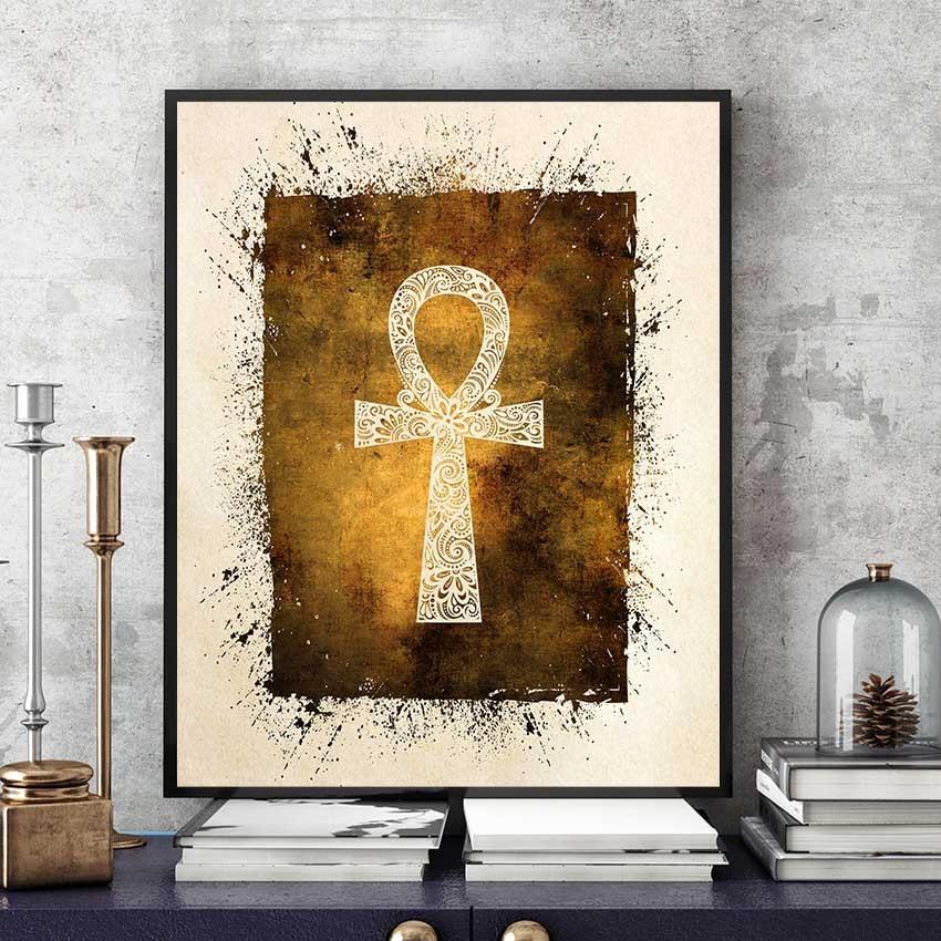 ankh cross + horus eye by Gobcruz on DeviantArt  |Ankh Eygpt Art