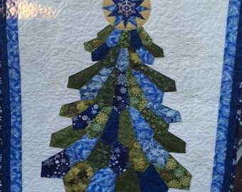 Dresden Christmas Tree Wall Hanging
