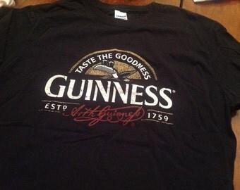 Guinness shirt -MD