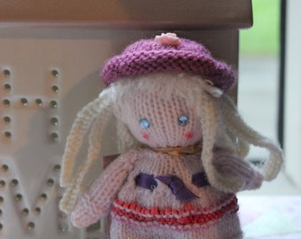Hand knit toy