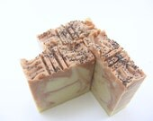 Breakaway Handmade Natural Soap with lemon and lavender essential oils, vegan friendly, cold process