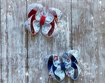 4th of july bows