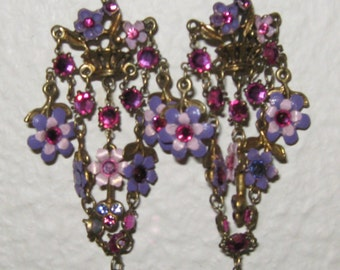 Long earrings Shabby Chic