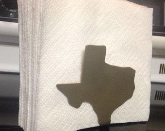 Texas Napkin or Letter Holder