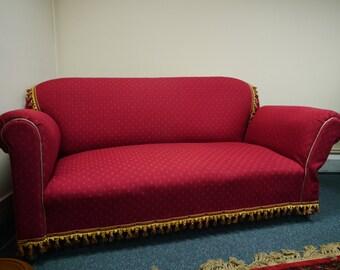 Vintage Sofa with drop leaf