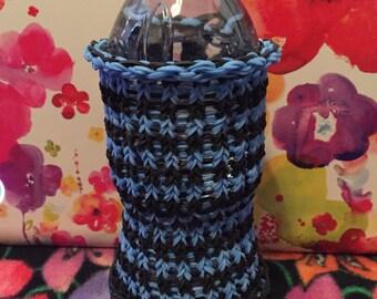 Rainbow Loom Water Bottle Holder/Cozy