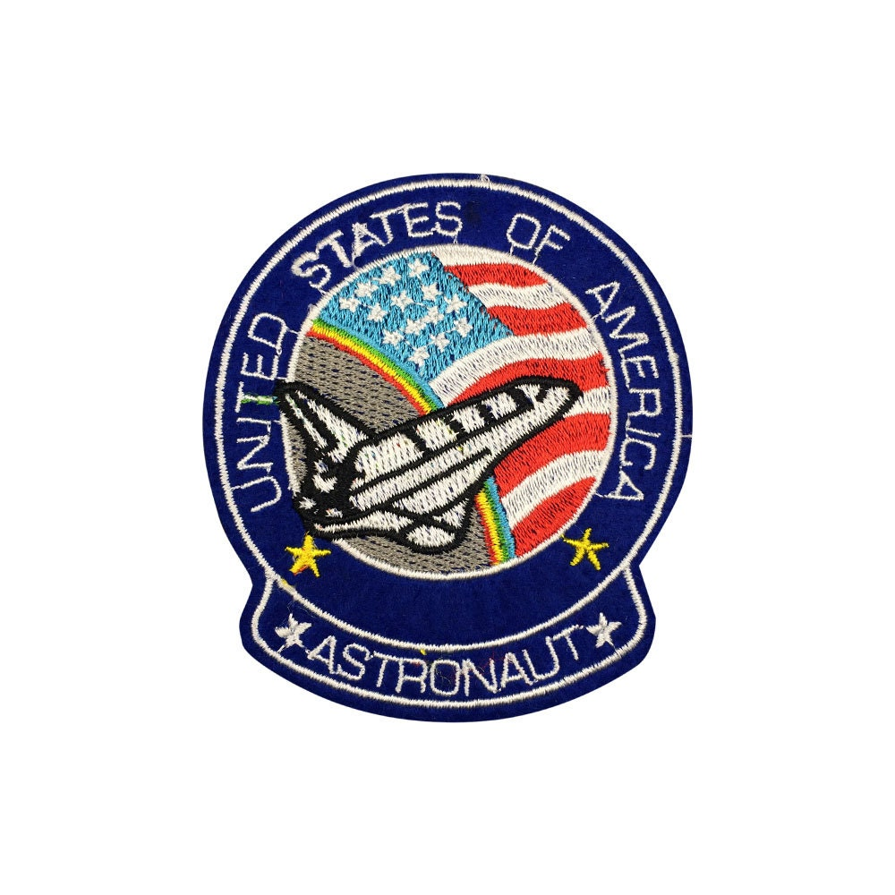 Astronaut Patch Iron On Patches by MadPatchesStore on Etsy