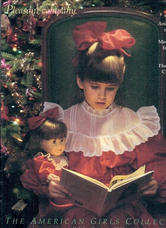 1992 pleasant company catalog samantha christmas cover