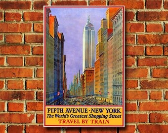 Fifth Avenue New York Poster - #0445