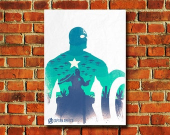 Captain America Poster - #0505