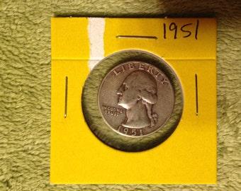 1951 Silver Quarter