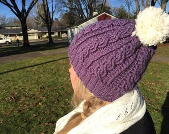 Crochet Cable Beanie