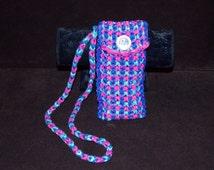 Handmade Rainbow Loom DRAGON SCALE Purse Handbag