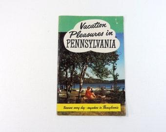 Vintage Pennsylvania vacation brochure booklet