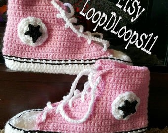 Women's Converse Crochet Slippers