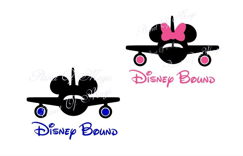 Disney Bound Svg File Mickey Mouse Svg Minnie Mouse Eps
