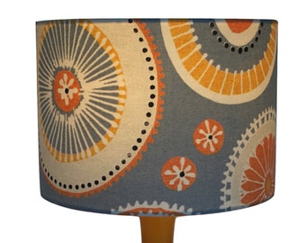 Retro Grey Lampshade /  Lightshade / Modern LightShade Various Sizes US FITTING AVAILABLE