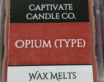Opium Wax Melt / Tart / Aroma / Clamshell / Gift