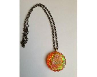 Piggi donut necklace