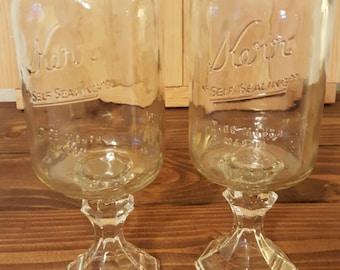 Redneck wine glass sets
