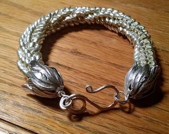 Long Magatama 4X7 mm bracelets, any color you would like