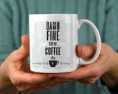 Damn Fine Cup of Coffee   Twin Peaks   Wonderful & Strange   Northwest Life   PNW   Coffee Mug